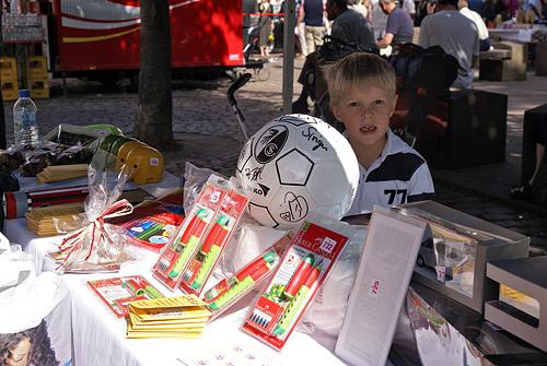 Florian bewacht die Preise...