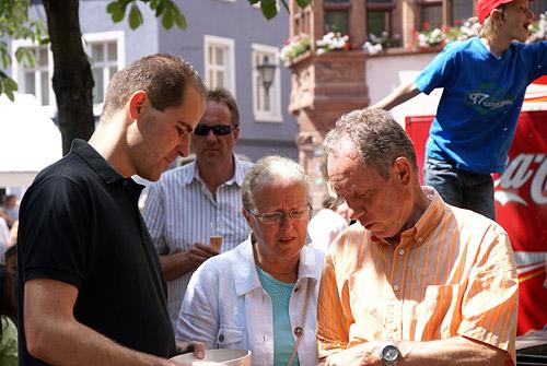 Aspirant Jan-Christoph Theobald lernt das harte Tabler-Leben kennen