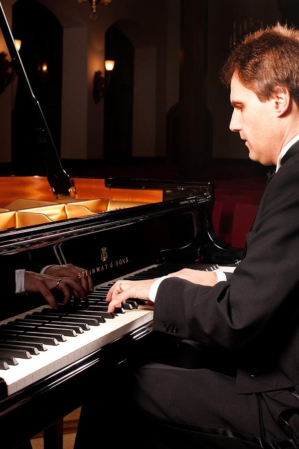 Martin Dombrowski am Flügel